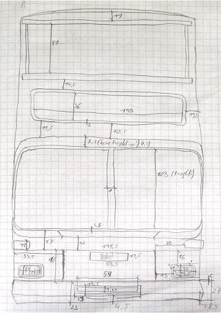 Der D86 im Bau – Das Blender-Tagebuch Skizze_front